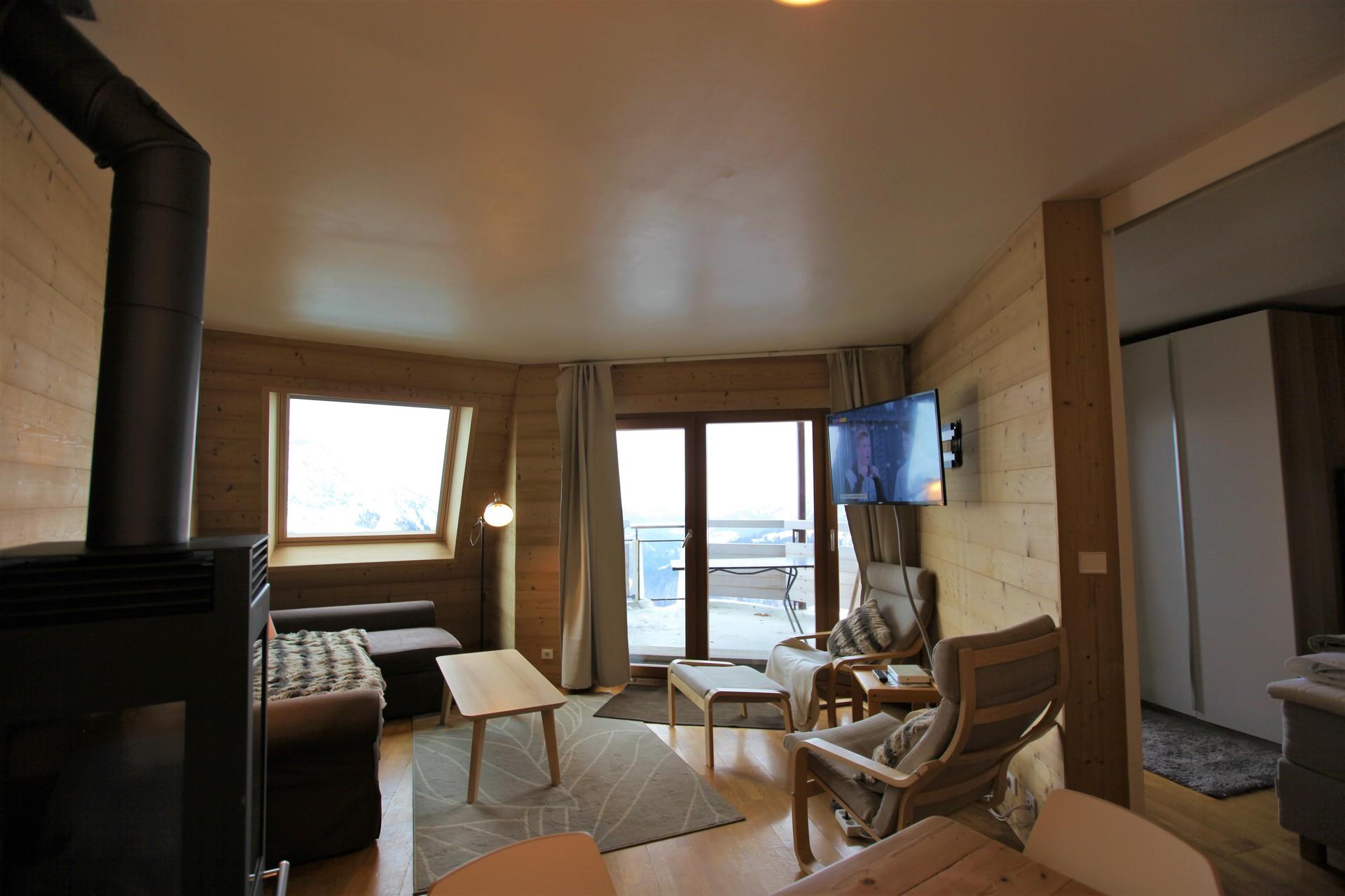 Rent a 3-rooms-(2-bedrooms) at Avoriaz