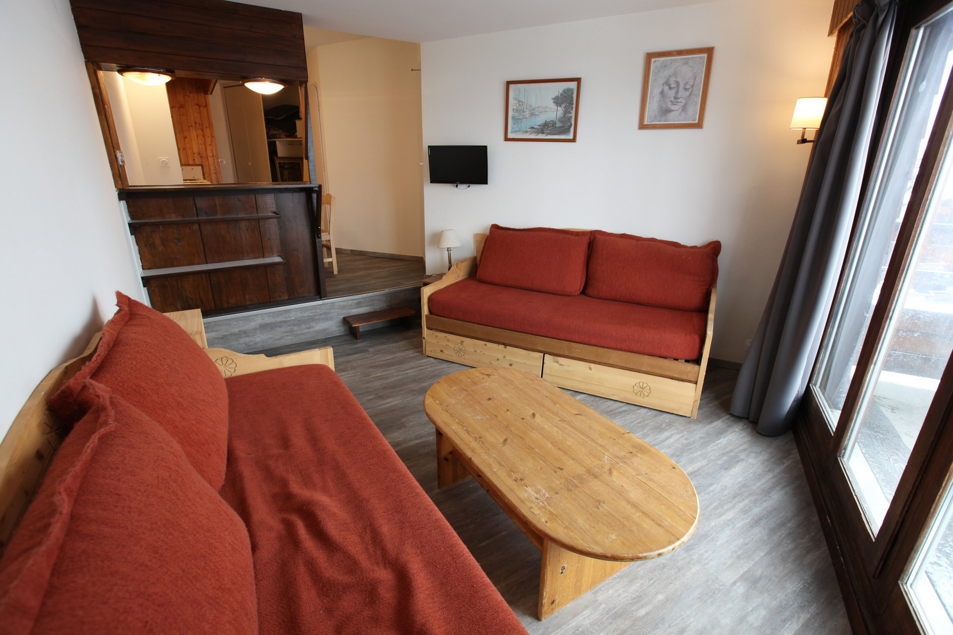 Rent a 2-rooms-(1-bedroom) at Avoriaz