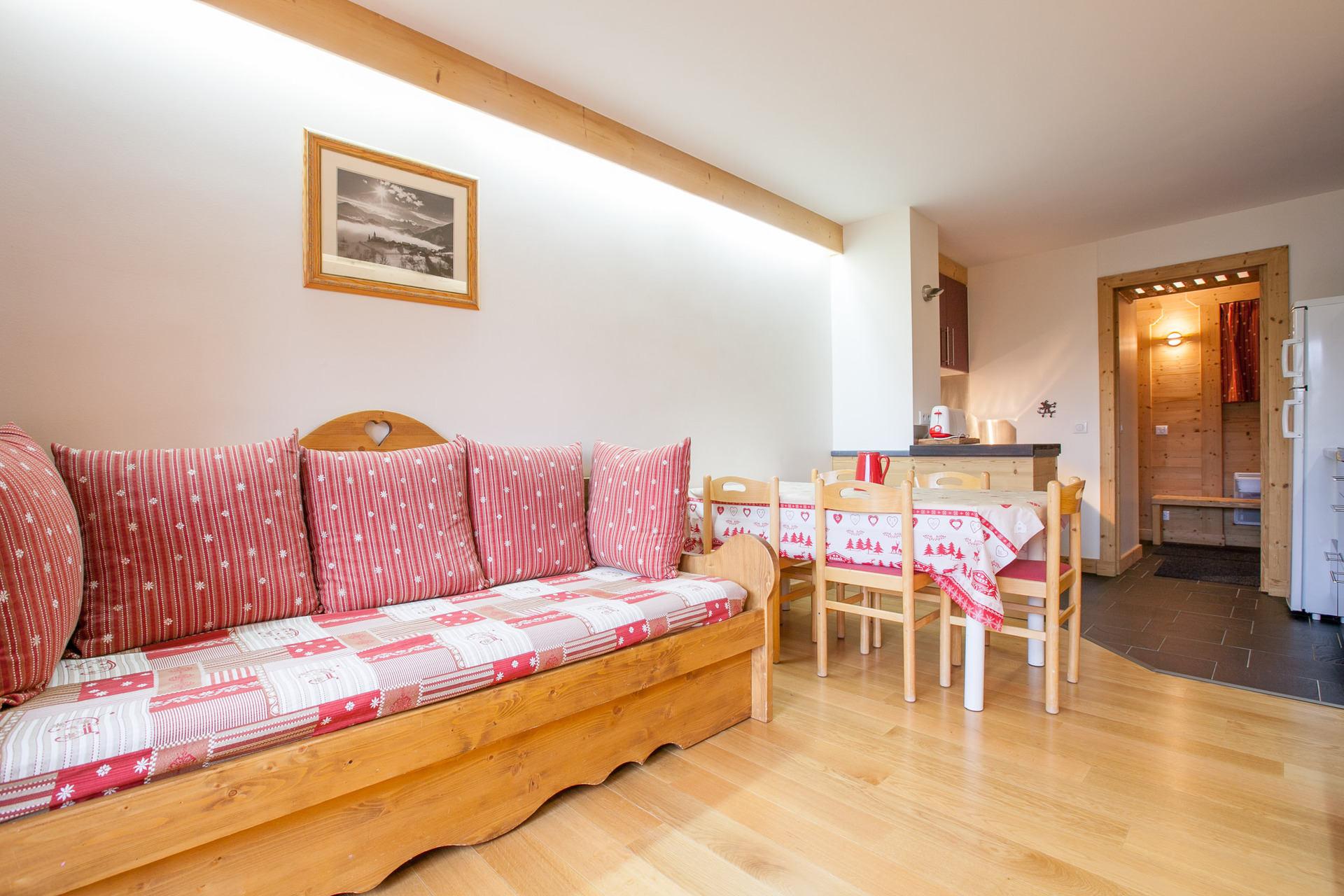 Rent a 3 rooms (2 bedrooms) at Avoriaz