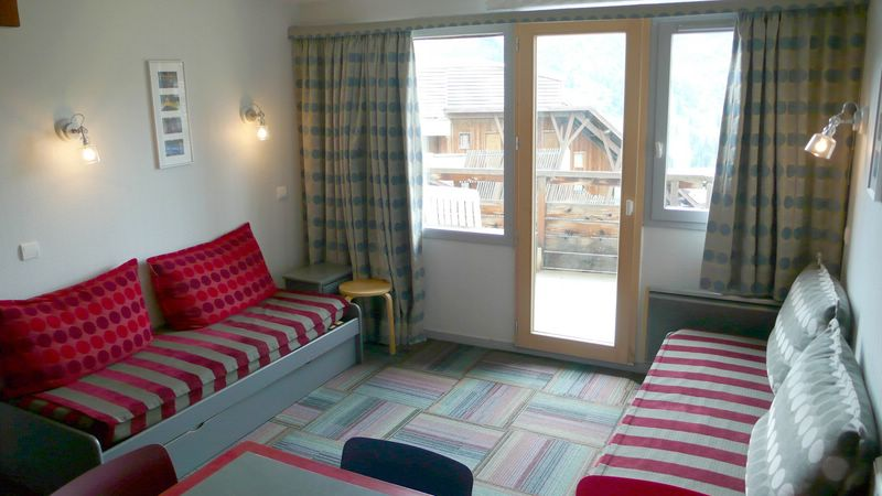 Rent a 3-rooms-(2-bedrooms) at Avoriaz